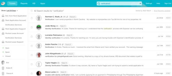 user types groove screenshot