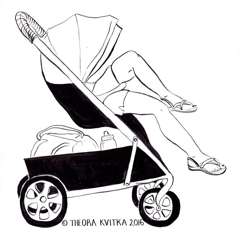 grownup stroller