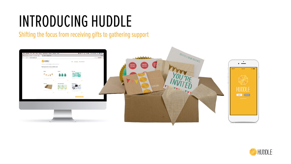 Huddle Is A Three Part System Consisting Of A Website, An App, And A  Toolkit To Help New Parents Throw A Huddle Instead Of A Traditional Baby  Shower.
