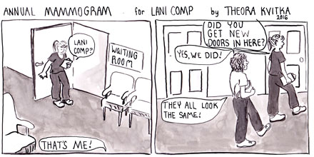 OBGYN Mammogram Comic